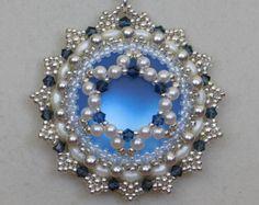 Perline ciondolo Tutorial Pattern istruzione Fairy Ring | Etsy