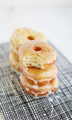 Try This: Easy Homemade Cronuts | A Beautiful Mess | Bloglovin'