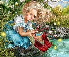 Добро пожаловать в удивительный мир сказки: волшебные иллюстрации Инны Кузубовой | Colors.life