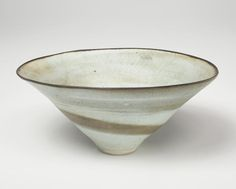 Lucie Rie, Open bowl, porcelain...