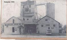 Swayzee Grain Elevator, Swayzee Indiana.