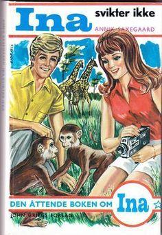 """""""Ina svikter ikke"""" av Annik Saxegaard Ebook Pdf, Comic Books, Comics, Reading, Cover, Movie Posters, Link, Film Poster, Reading Books"""