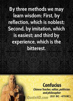 Confucius Wisdom Quotes | QuoteHD