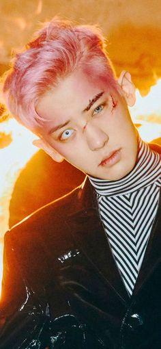 Chanyeol Cute, Park Chanyeol Exo, Kpop Exo, Kyungsoo, Baekyeol, Chanbaek, Exo Album, Exo Lockscreen, Exo Ot12
