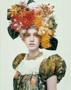 Flower hat!!