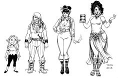Spinning Yarn -  Rat Queens designs by Tess Fowler