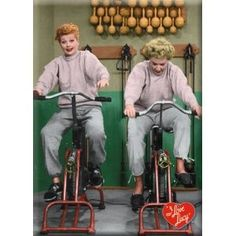 Take it from Lucy & Ethel - PB is always better with a buddy!