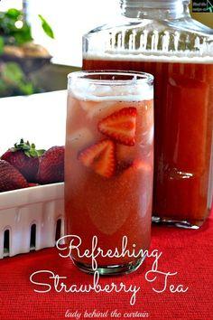 Refreshing Strawberry Tea
