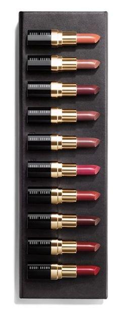 Bobbi Brown The Original 10 25th Anniversary Lip Color Collection