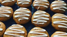 """""""Wonderful spicy iced pumpkin cookies that both kids and adults love!"""""""