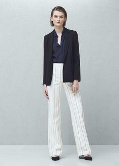 Crepe blazer | MANGO