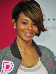 black hair styles Short Black Hairstyles yes we have highlights :) at brzhair.com
