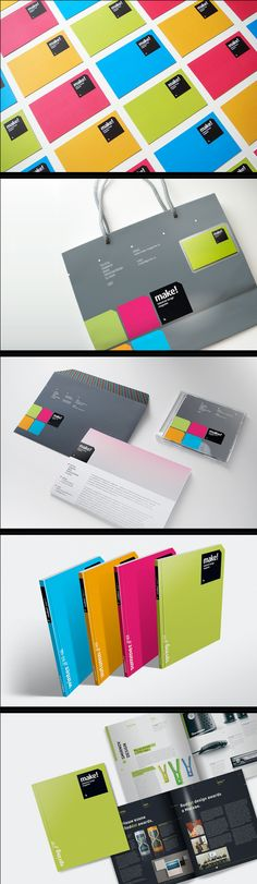 Make! by Playoff LLC, via Behance. Let's make something #identity #packaging #design PD