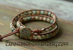 COMFORT&RELAXATION Yoga Bracelet Yoga Jewelry by CandiedBohemian
