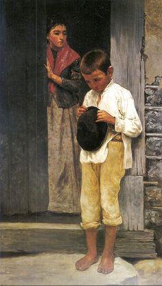 Recado difícil - José Ferraz de Almeida Junior - Brasil 1895