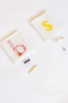 Letter pouches