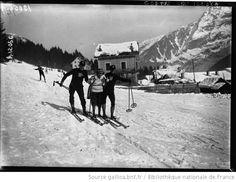 Une leçon de ski : [photographie de presse] / Agence Meurisse - 1