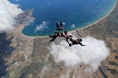TNT 4-way Team Romania  romanian team of skydivers