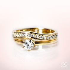 Motivated Goldring Ring 585 Gold 14 Karat Brillanten Diamanten Bague Or Blanc Weißgold Oro Other Fine Rings