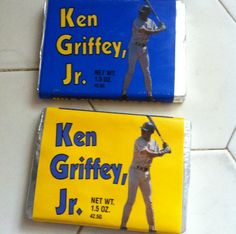 If you grew-up in Seattle during the early 90's, you had to get your hands on the Ken Griffey Jr candy bar!