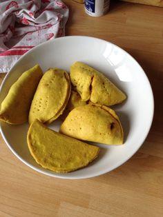 Jamaican patties recipe - All recipes UK Jamaican Beef Patties, Jamaican Patty, Jamaican Curry, Side Recipes, Snack Recipes, Cooking Recipes, Healthy Recipes, Snacks, Healthy Food