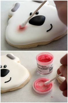 Polar Bear Cookies tutorial by The Sweet Adventures of Sugarbelle