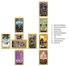 How to Read the Celtic Cross Spread Like A Pro - Looking Deeper - Tarot Elements
