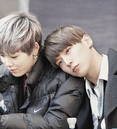 My two biases from B.A.P in one picture...God has given me extra blessings today XD