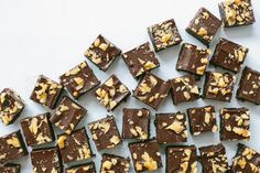 No-bake coffee, cardamom + dark chocolate slice (gluten-free + vegan) | My Darling Lemon Thyme