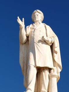 Visit Dionysios Solomos museum - Top 20 Things to do on Zante holidays Purple Tips, Greece Holidays, Things To Do, Museum, Statue, Top, Things To Make, Museums, Crop Shirt