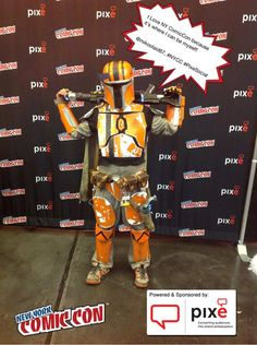I Love NY ComicCon because it's where I can be myself! @mikoolaid67, #NYCC #PixeSocial
