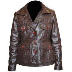 Bedtime Stories: Keri Russell Leather Jacket