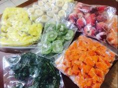 tips.. congela frutas y prepara deliciosos licuados o smoothies - YouTube