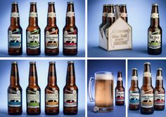 Blue Ball Brewery Redesign by Mel Firetto, via Behance