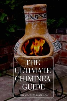 Are you looking for a great backyard fireplace idea? Using a chiminea is easy i… - All For Garden Adobe Fireplace, Backyard Fireplace, Backyard Patio, Outdoor Fireplaces, Backyard Ideas, Fireplace Ideas, Patio Ideas, Garden Ideas, Chimnea Outdoor