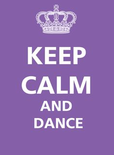 Just dance around the room for a minute, no matter how stupid you look, and just take out your frustrations that way.