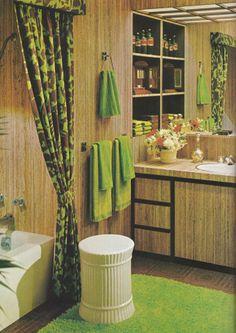 Vintage Home Decorating 1970s, Lighting