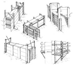 Rammed earth formwork from http://www.arch.ttu.edu/courses/2013/fall/5334/Students/Rebarchik/10/Presentation%201.htm