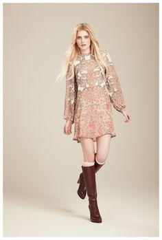 Francis Fall 2012 - Mimi paisley dress