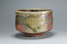 japanese tea bowl | Japanese Anagama Potter, Shiho Kanzaki's Exhibition Room. Tea bowl.