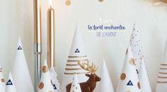 DIY ♥ LA FORÊT ENCHANTÉE DE L\'AVENT