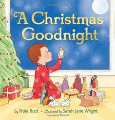 A preschool-age boy plays with his Nativity crèche figures on the cover of this quietly charming bedtime story that integrates the little boy's world with the Christmas Eve story of the birth of the Christ Child.