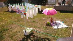 Sunning our stash! All BumGenius 4.0's.  #clothdiaperlove @Diaper Shops