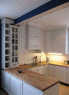 Villa Gravfoss Decor, Kitchen Cabinets, Cabinet, Home Decor, Kitchen, Villa, Kitchen Redo