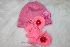 Machine knitting for baby dolls