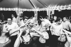 Maryland Wedding Photography - Woodlawn Manor - Adam & Laura | Jeff Benzon Photography - Park Venue #tent #dancing