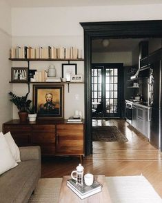 Living Area, Living Spaces, Living Room, Appartement New York, Design Salon, Home And Deco, Design Case, Design Design, Graphic Design