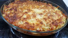Ham And Cheese, Macaroni And Cheese, Cheese Souffle, Bacon Pasta, Greek Recipes, Tasty Dishes, Pizza, Stuffed Peppers, Cooking