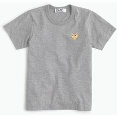 Play Comme Des Garcons Gold Heart T-Shirt : Women's Tees Dressy Summer Outfits, Comme Des Garçons Shirt, Cute Suitcases, Pastel Outfit, Comme Des Garcons, J Crew Men, Types Of Fashion Styles, Classic T Shirts, Gold Heart