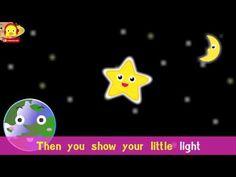 Twinkle Twinkle Little Star with lyrics Karaoke ♫ Kids songs ♫ Nursery R...